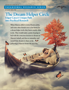 Cover art for Dream Helper Circle article in Inspiration magazine