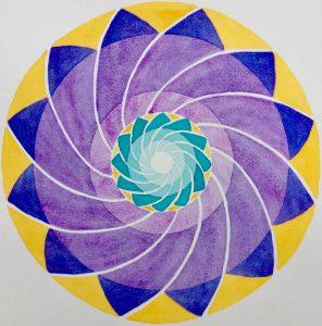 Mandala sample by Henry Reed